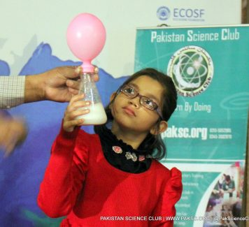 Pakistan Science Club Conducted Science Show at Lok Virsa Islamabad