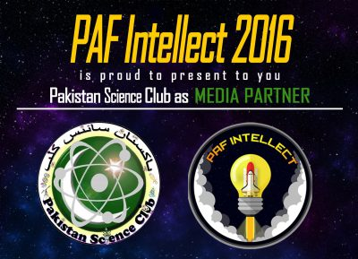 Pak Science Club Media partner of PAF Intellect 2014